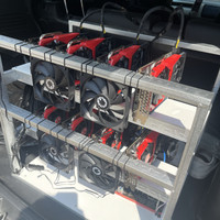 PAKET HEMAT RIG MINING 4 GPU GTX 1660 SUPER (SETTINGAN BERES)