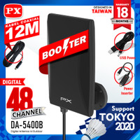 Antena tv digital indoor bosster outdoor PXDA-5400B bukan DA 5200 5120