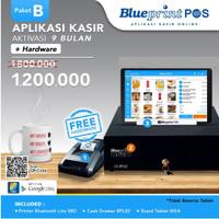 Paket Usaha / Aplikasi Kasir BLUEPRINT POS 9 Bulan Free Hardware