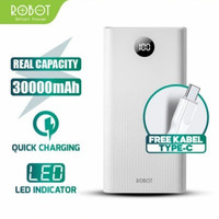Powerbank Robot RT30 30000mAh 22.5w 3A Two-Way Quick Charge grs 1Th