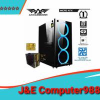 ARMAGEDDON NIMITZ TR1100 PSU VOLTRON BRONZE 235FX 3XFAN / GAMING CASE