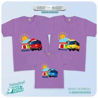 Kaos Couple Keluarga | Baju Anak Family Custom Tema Tayo NW 3417