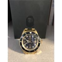 BAPEX Watch Type 1 - Gold ( 100% ORIGINAL) - USED