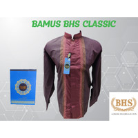 BAMUS BAJU KOKO BHS CLASSIC ATASAN BUSANA MUSLIM Premium UKURAN L