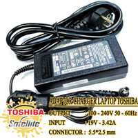 Adaptor Charger Laptop Toshiba Satellite A200 C850 C55-A 19V 3.42A ORI