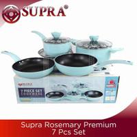 panci set Supra 7 pcs rosemary new pastel