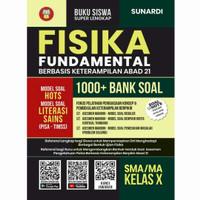 Buku Fisika Fundamental 1000+ Bank Soal SMA/MA Kelas 10