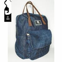 Tas Ransel Neiltsuseno - Spaso Backpack 13L Blue Denim