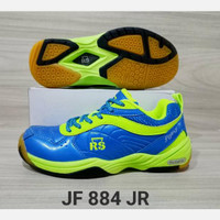 sepatu bulu tangkis badminton Anak Reinforce speed jeffer 884 Size 36