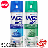 WIZ24 Disinfectant Spray 300 ml Surface&Air Aerosol Clean-Fresh-WIZ 24