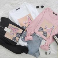 Kaos Tumblr tee Converse - Sepatu bintang / baju wanita pendek katun
