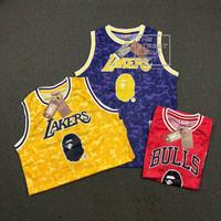Kaos Jersey Basketball Bape x NBA 3 Varian