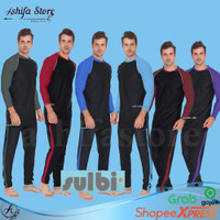 Baju Renang Pria Tangan Panjang Atas Bawah SBL 50 | Baju Renang Sulbi