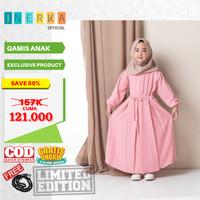 Baju Gamis Muslim Anak Perempuan Umur 4 5 6 7 8 9 10 Tahun Terbaru