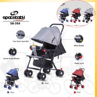 SPACE BABY Baby Stroller Kereta bayi SB 204
