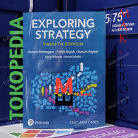 Buku Exploring strategy text and cases 12th edition Whittigton