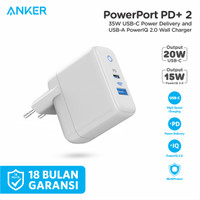 Wall Charger Anker PowerPort PD+ 2 - A2636