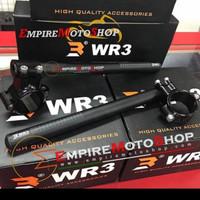 Stang Jepit Wr3 33mm Ninja 150 R / RR ,Yamaha Vixion ,R15 Old