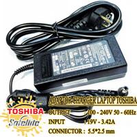 Adaptor Charger Laptop Toshiba Satellite C800 L20 L310 19V 3.42A ORI