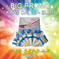 Kuas Cat - kuas tangan - Euro 33