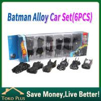Hot wheels premium 6PCS/Set DC Batman batmobile Diecast Mainan Anak - 6PCS/SET