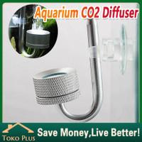 Diffuser Co2 aquascape DIY Alumunium Atomizer Co2 Aksesoris Aquarium