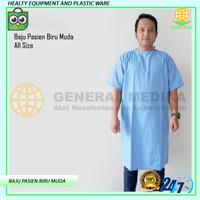 Baju Pasien   Baju operasi   Baju rumah sakit biru muda