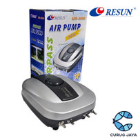 RESUN Air 8000 8 Watt Pompa Udara Aerator Akuarium Air Pump Surpass
