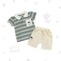 Ohbabydays   Baju Anak Laki-Laki   See You Polo Set - 1-2 tahun, beige