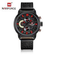 Jam Tangan Naviforce NF-9068M - GENUINE LEATHER