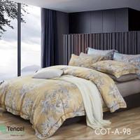 Bed cover set sprei 200x200 kingkoil sutra tancel AZ 03 - 200x200x25