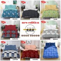 1set bedcover kintakun d'luxe ukuran 160x200 variasi motif