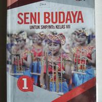Buku seni budaya kelas 7 erlangga k2013