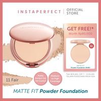 Wardah Instaperfect MATTE FIT Powder Foundation 13. Beige 13 g - 11 Fair