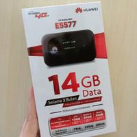 Modem WiFi Huawei E5577 Unlock All GSM FREEQUOTA 14GB Simpati Original