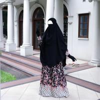 Couple Batik Arumi Hitam | Batik Premium | Batik Couple Modern | COD