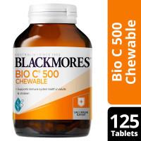 BLACKMORES Bio C 500mg Chewable 125 tabs vitamin balckmores Bio c