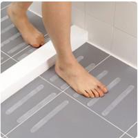 Trustpoud Stiker Anti Slip Lantai Kamar Mandi Shower Strips 6 PCS
