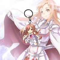 Gantungan Kunci Sword Art Online Yuuki Asuna - Ganci - Keychain