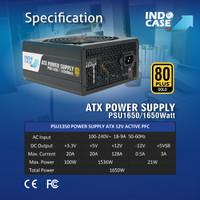 PSU1650 - PSU ATX 1650W PURE 80+ GOLD - INDOCASE