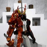 Kostum Kamen Rider Saber HQ + Dx Seiken Sword Driver combo Blades