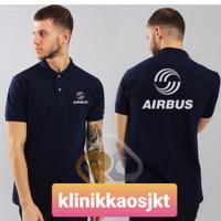 BAJU - KAOS POLO AIRBUS - POLOSHIRT AIRBUS - S