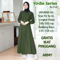 Baju Gamis Wanita Murah Dewasa Bahan Original Moscrepe Grade A