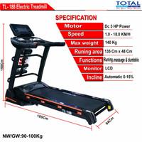 Treadmill Electric BIG 3 HP