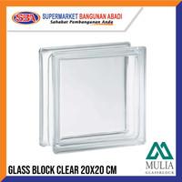 GLASSBLOCK / GLASSBLOK / GLASS BLOCK MULIA GLASSBLOCK CLEAR 95000