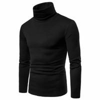 TURTLENECK PRIA - kaos leher tinggi turtle neck fashion korea sweater