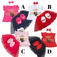 Baju Setelan anak cewek perempuan fashion pergi jalan K059 Babybell