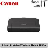 Printer Portable Wireless CANON PIXMA TR150 TR 150 With Battery