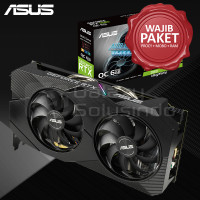 ASUS DUAL GeForce RTX 2060 EVO OC edition 6GB GDDR6 - Wajib Rakitan