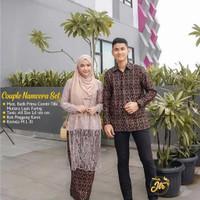 Gratis Ongkir Batik Couple Sarimbit kebaya Couple kebaya brukat long